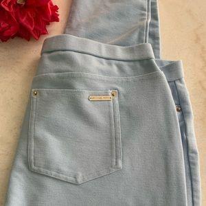 Michael Kors powder blue pull on pants
